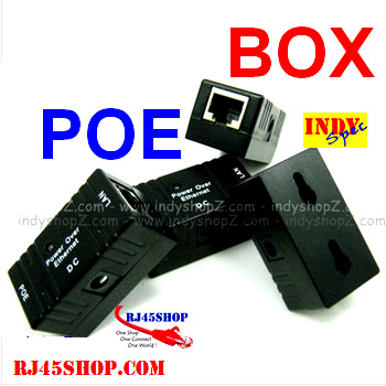 POE BOX INJECTOR/SPLITTER...