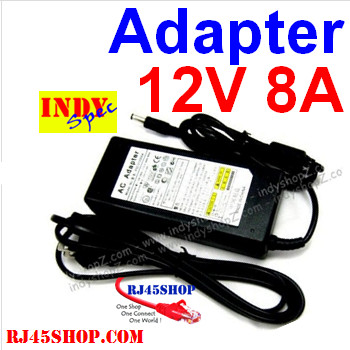 Adapter 12V 8A Indyspec จ...