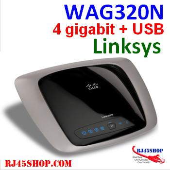 Linksys WAG320N Dual-Band...
