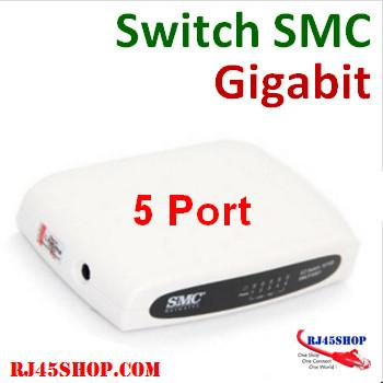 SMC 5 Port Gigibit Switch...