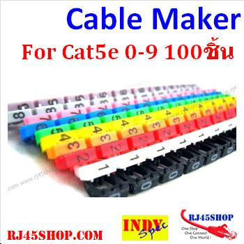 LAN Cable Markers Cat5 Ca...